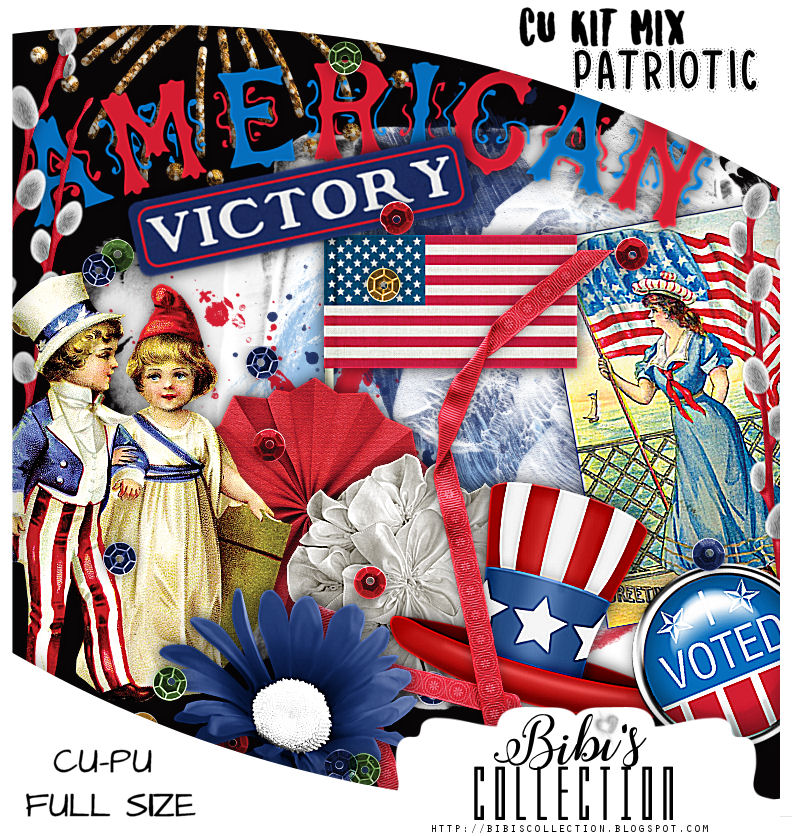 CU MIX PACK PATRIOTIC